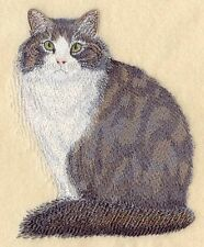 Embroidered Sweatshirt - Norwegian Forest Cat C7950 Sizes S - Xxl