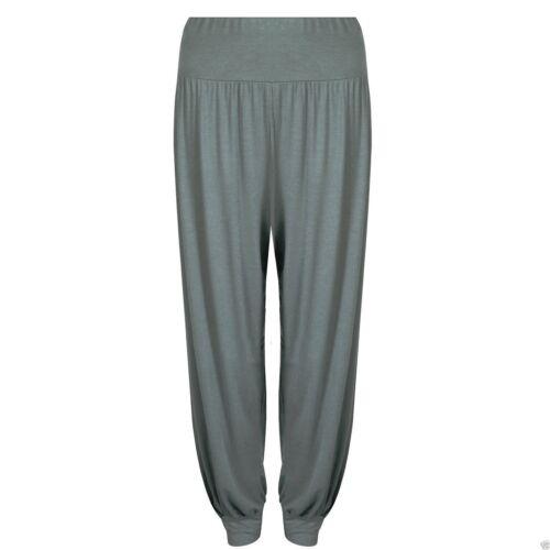 New Ladies Women Full Length Hareem Aladdin Baggy  Ali Baba Trousers Pants 8-28
