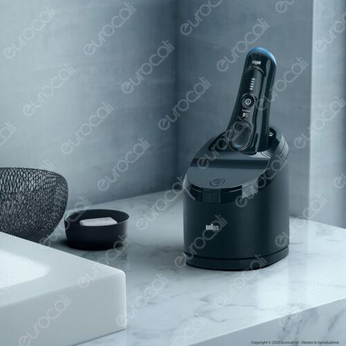 Braun Rasoio Elettrico Barba Serie 8 Wet/&Dry 8365cc Impermeabile Display LED
