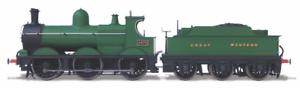 Oxford Rail OR76DG003 Dean Marchandises 2475 Gwr sans Doubluere Jauge D'Oo