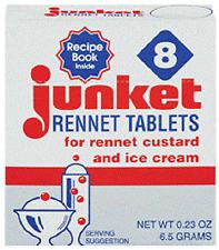 Junket Rennet Tablets