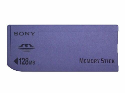 Sony Memory Stick 128 MB tarjeta de memoria-msa-128a