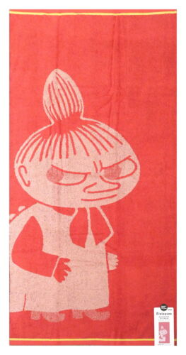 Moomin Bath Towel Little My Koral Pink 70 x 140 cm Finlayson