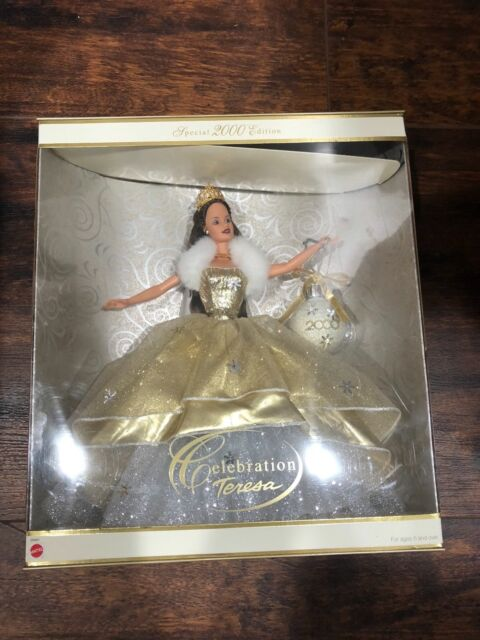 Amazon. Com: barbie celebration teresa doll special edition 2000.