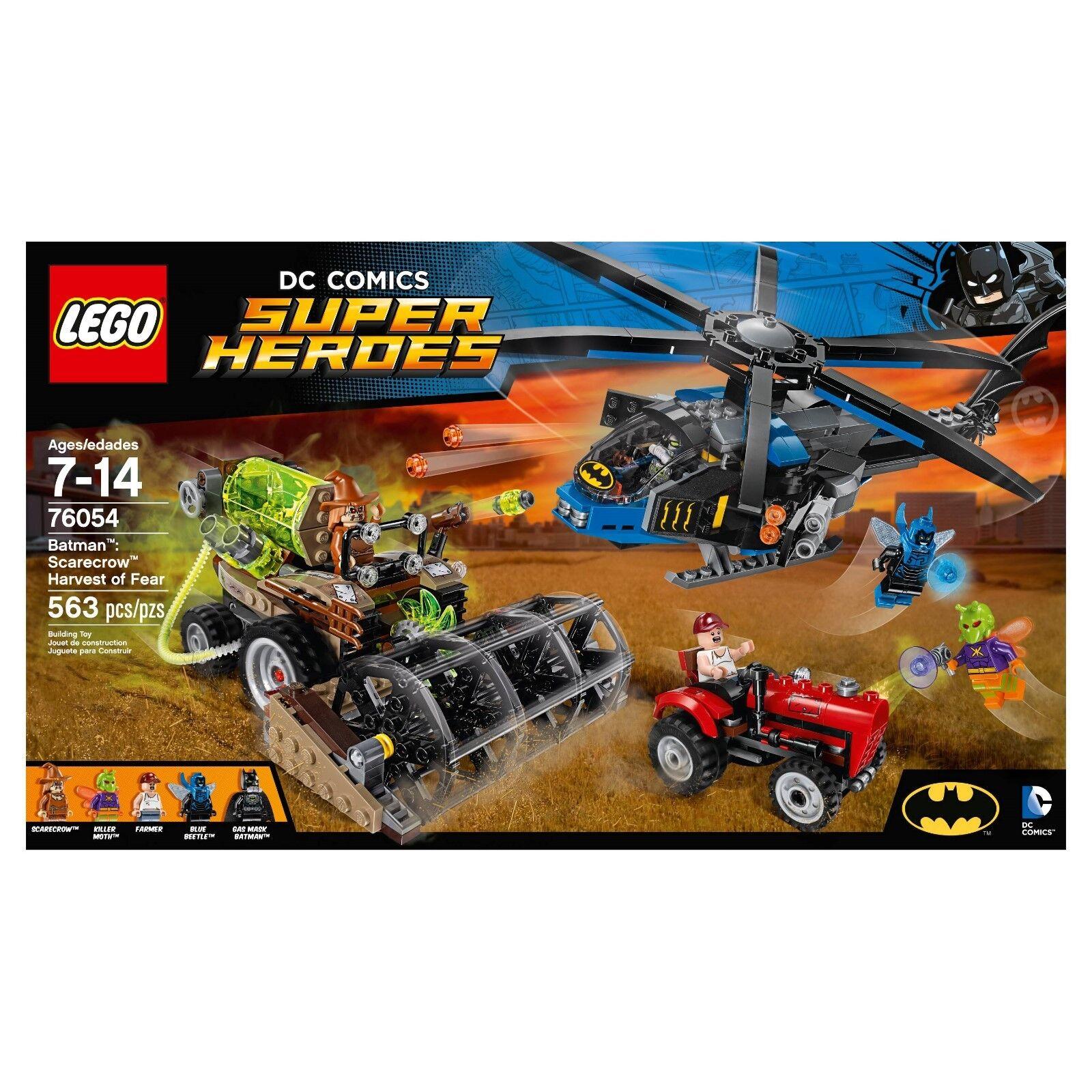 Lego Super Heroes 76054 Batman Scarecrow cosecha de miedo