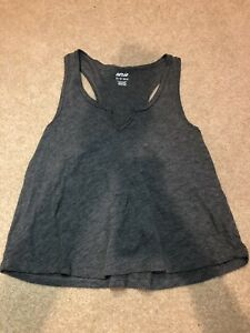 Aerie-Women-039-s-Gray-Real-Soft-Tank-Top-Size-XS