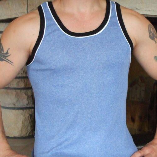 6 x Uomo sotto camicia uomo camicia da sotto ascella SHIRT COLORATE