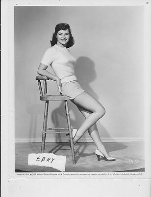 Eileen barton busty leggy vintage photo