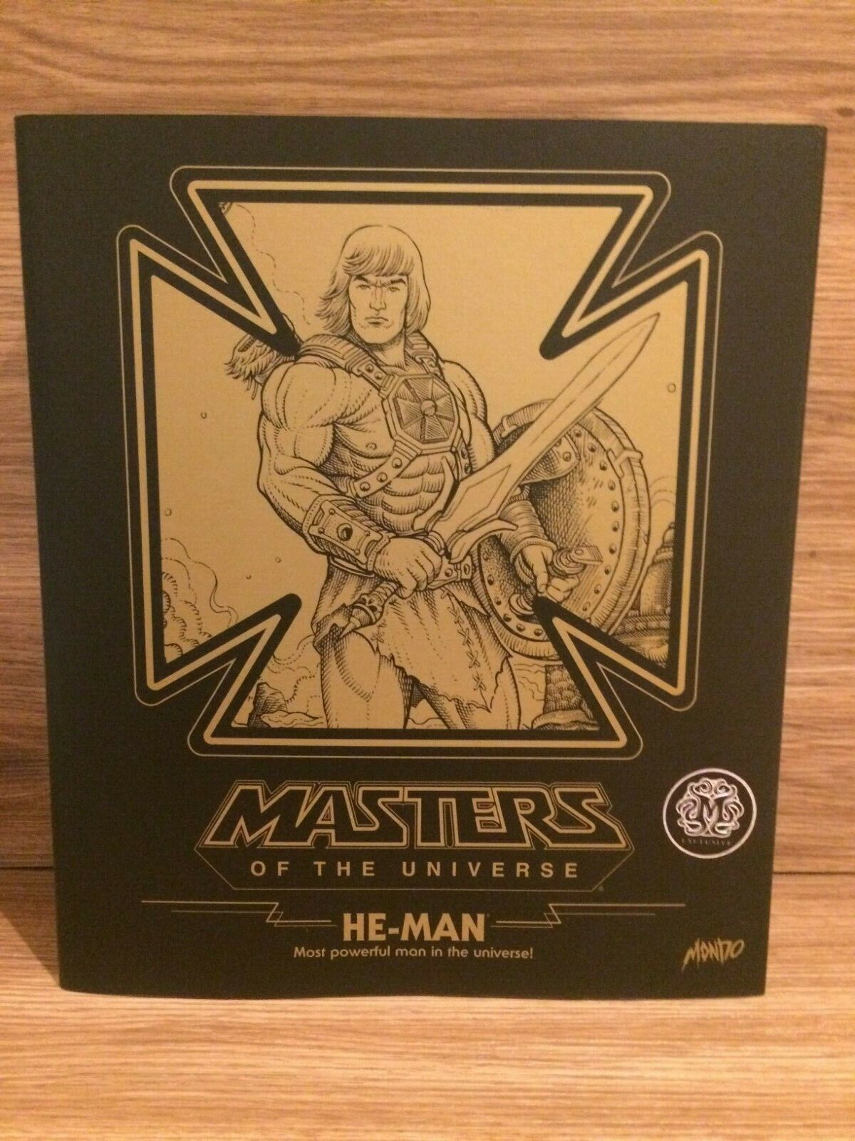 Mondo Exclusive He-man & The Masters of the Universe MOTU 1 6th Scale MT-1531