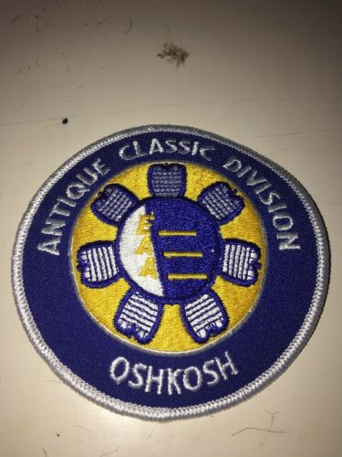 EAA Antique Classic Division Patch Oshkosh Wisconsin Airplane