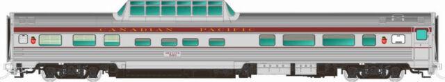 Rapido 116014 CANADIAN PACIFIC Maroon Mid-Train Dome #509 w/Block Lettrng NIB