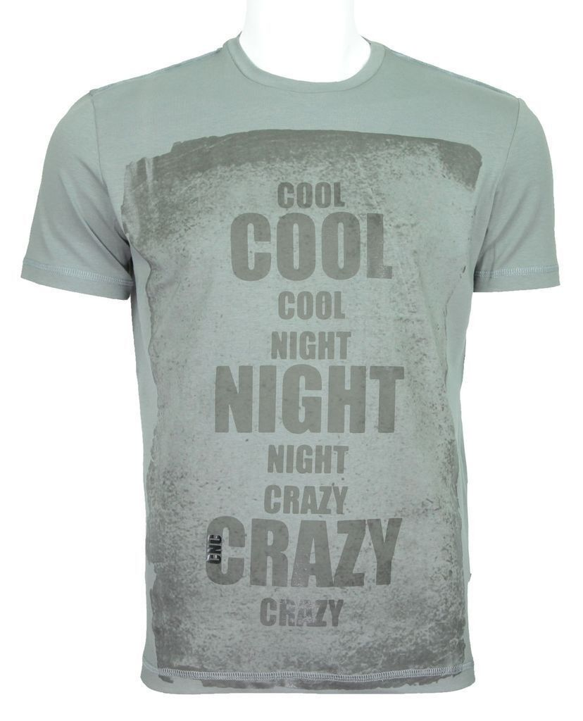 C'N'C (Costume National) cool night slim fit tee deep grey
