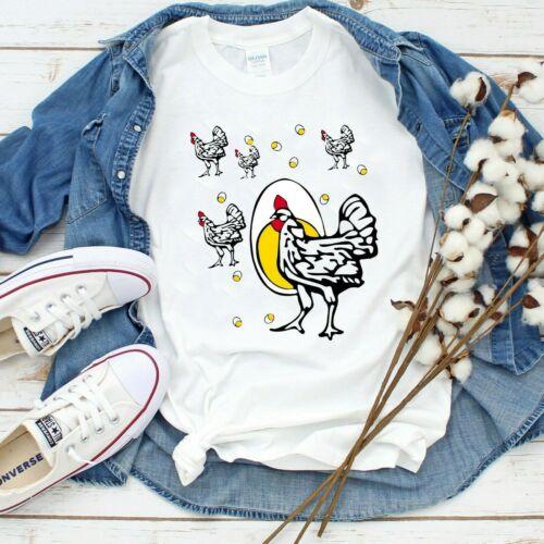 Roseanne Chicken Ringer Tee Shirt S-3XL