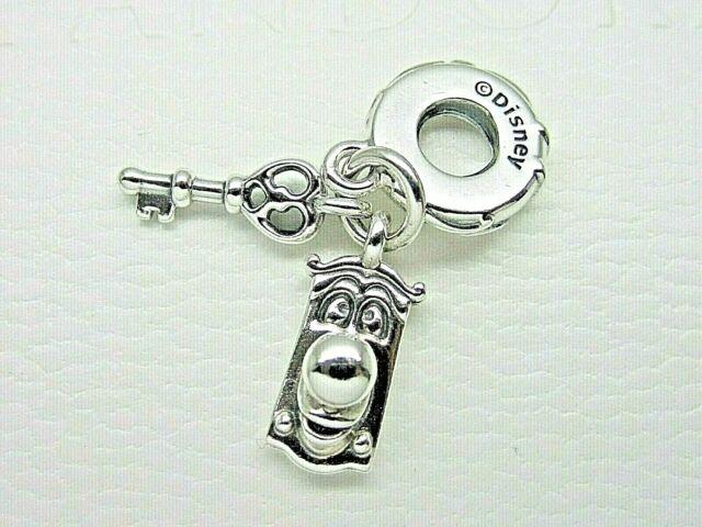 Authentic Disney Alice in Wonderland Key & Door Knob PANDORA Charm 799344c00