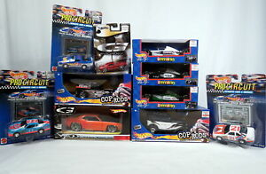 Lot-10-Hot-Wheels-Grand-Prix-Cop-Rods-71-G-Force-Cuda-Pro-Circuit-G-Machines-NEW