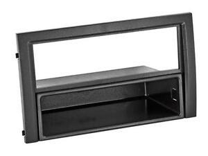 Skoda Fabia 6y Facelift Car Radio Panel Installation Frame 1 Din Black Ebay
