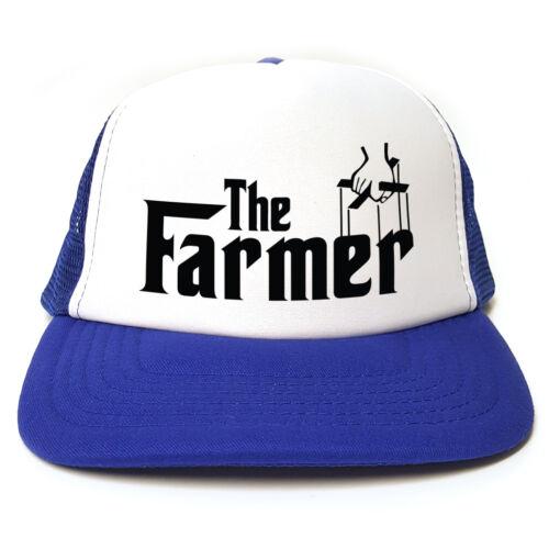 The Farmer Snapback 3 Colours Godfather Spoof Funny Retro Trucker Cap