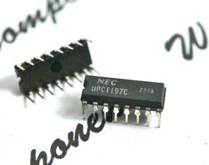 1PCS-NEC-uPC1197C-DIP-16-Integrated-Circuit-IC-NOS-original