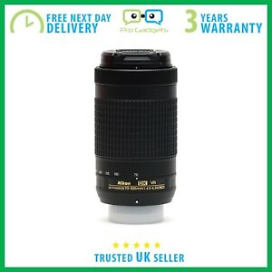 NUOVO-Nikon-Nikkor-AF-P-DX-70-300-mm-F-4-5-6-3-G-ED-VR-Scatola-Bianca-3-anni-di-garanzia