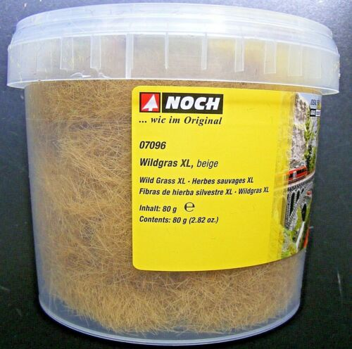 12 mm 15,61€//100g NOCH 07096 Wildgras beige 80 g Dose Neu