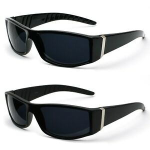 50f39a8aa3 Image is loading Premium-Mens-Action-Sports-Modern-Rectangular-Frame- Sunglasses