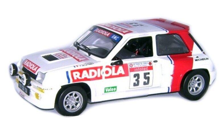 R5 turbo Radiola 5ème Tour de Corse 1986 - J.C.Torre  Universal Hobbies 1/18 | Outlet Online