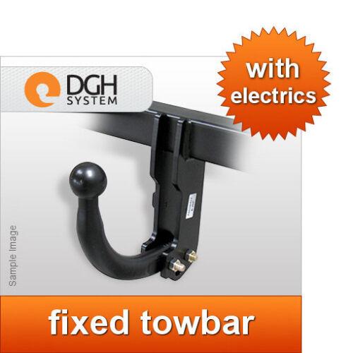 Fixed towbar swan neck Hyundai Getz 2005//2009 7-pin electric kit