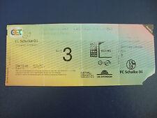 00/01 FC Schalke 04 - Borussia Dortmund BVB Eintrittskarte Ticket DFB Pokal S04