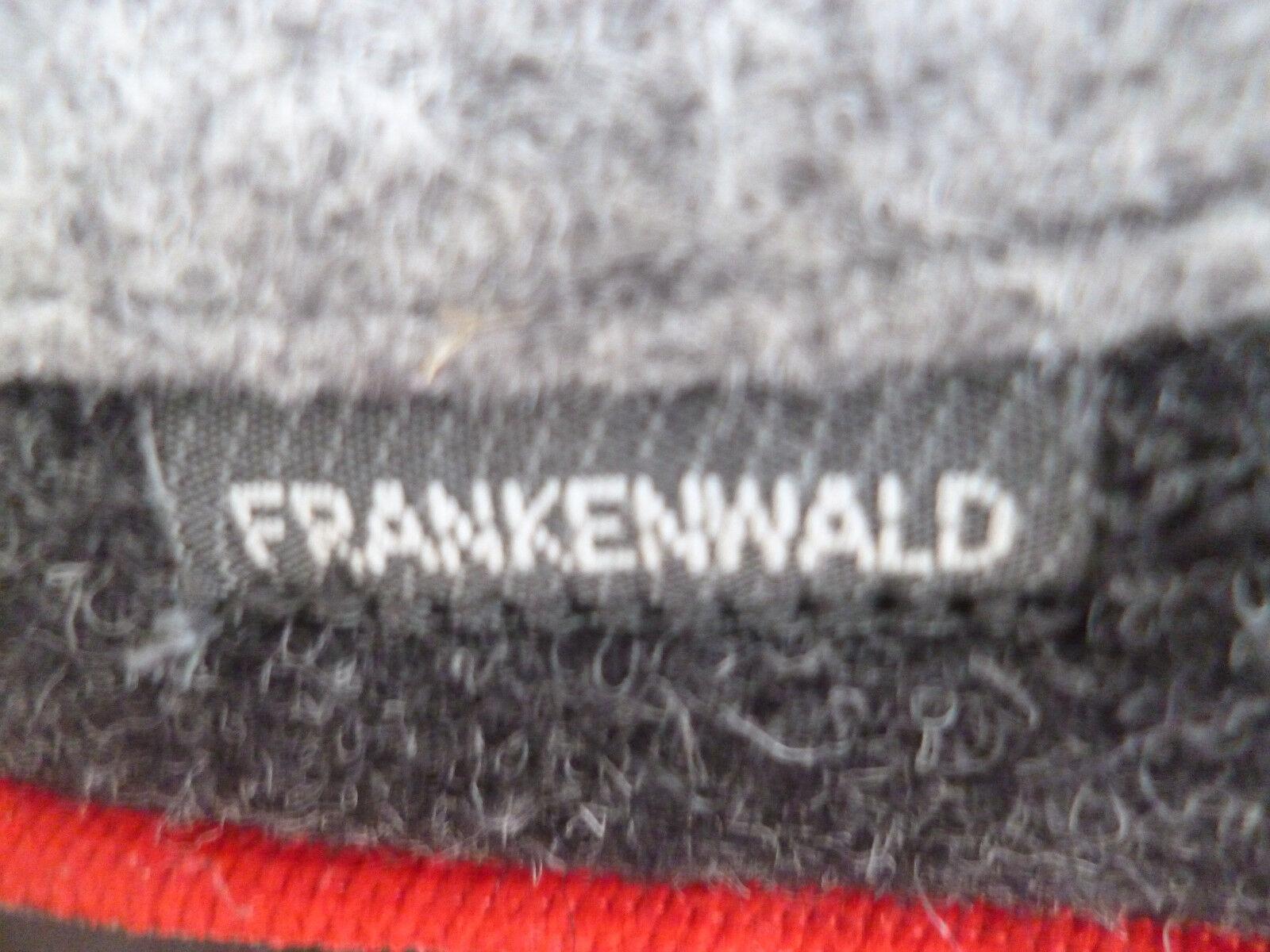 Frankenwald Damen Pantoffel Hausschuhe, Art.126 grau/rot, für lose Einlagen Art.126 Hausschuhe, NEU 7b3d5a