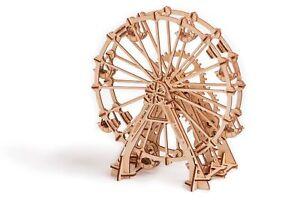Wood-Trick-Observation-Ferris-Wheel-Mechanical-Wood-3D-Puzzle-Model-Assembly-Kit