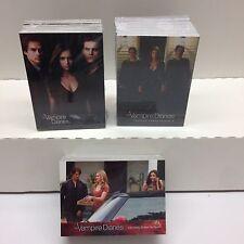 VAMPIRE DIARIES CARD SETS SEASON 1,2 & 3 (3 TOTAL) + 4 FREE SETS & 1 PROMO