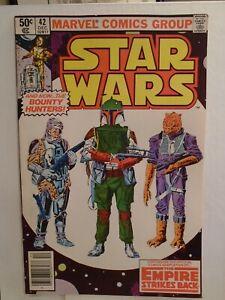 Marvel STAR WARS #42 (1980) 1st Appearance of Boba Fett in Comics NICE COPY