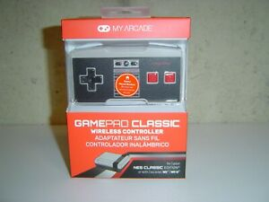 My Arcade GamePad Classic Wireless Controllers for NES Classic, Wii and Wii U
