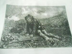 Bien éDuqué Uncared For By G. Regamey Gravure Antique Print 1870 Vous Garder En Forme Tout Le Temps