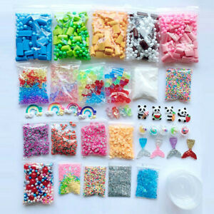 Slime-Supplies-Kit-Foam-Beads-Charms-Styrofoam-Balls-Tools-Fuer-DIY-Slime-Making
