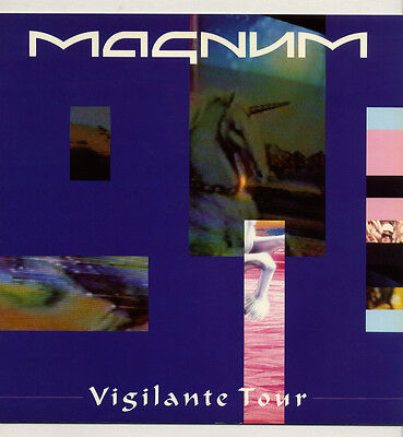 MAGNUM 1986 Vigilante Tour 24 page concert tour programme Excellent condition!