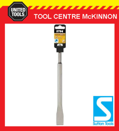 P/&N BY SUTTON TOOLS 250mm x 25mm SDS PLUS ROTARY HAMMER COLD CHISEL BIT