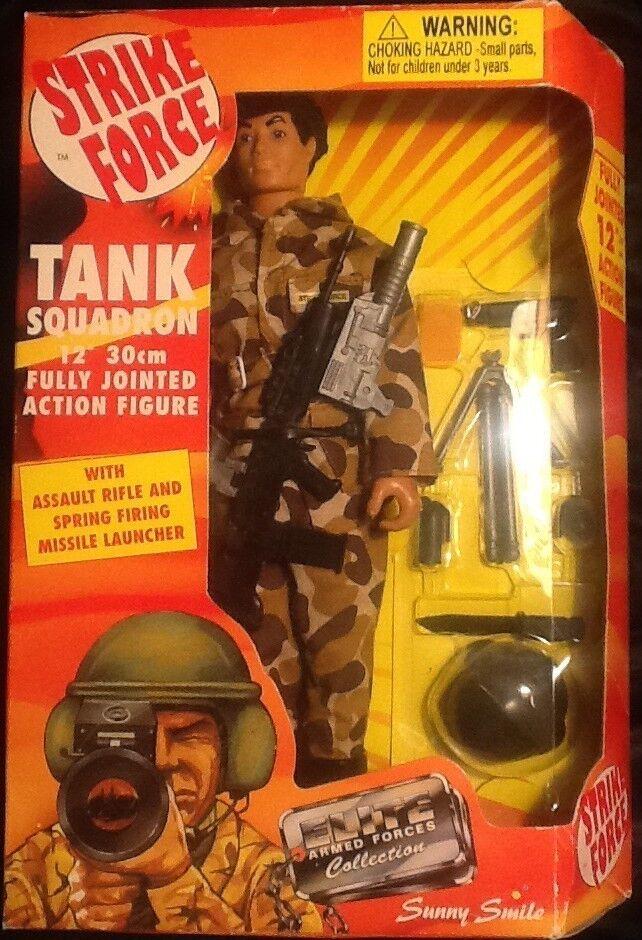Strike Force Tank Squadron 12 Inch 30cm Action Figure MINT