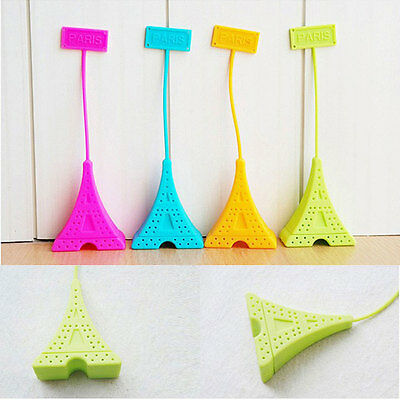 Hot Sale Classic Eiffel Tower Tea Bag Balls Infuser Silicone Strainer Filter New