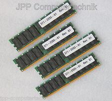 16GB 4 x 4GB 371-2205-01 RAM SUN FIRE SunFire X4100 M2 DDR2 CL5 667 MHz REG 2Rx4