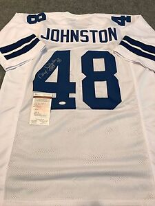 7e4270983 Image is loading DARYL-JOHNSTON-AUTOGRAPHED-SIGNED-INSCRIBED-DALLAS-COWBOYS- JERSEY-