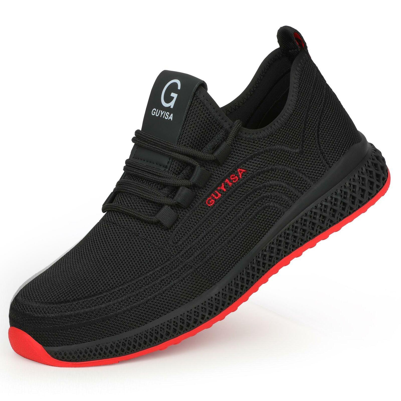 Chaussures de sécurité au travail pour hommes femmes bottes à bout d'acier