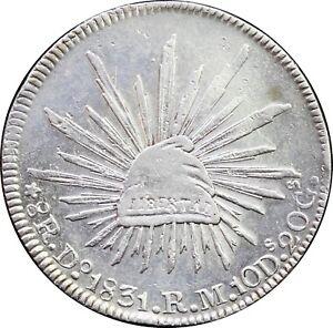 Mexico-8-Reales-Do-1831-R-M-Durango-Uncirculated-KM-377-4