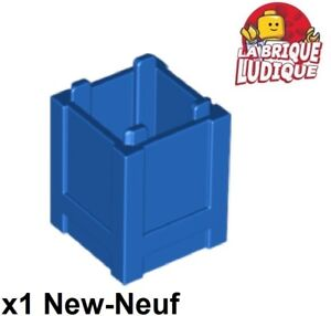 Lego 2x Container coffre box caisse 2x2x2 marron//reddish brown 61780 NEUF