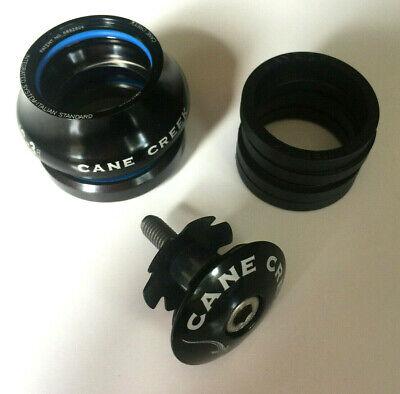 """cane creek IS-3i  1-1//8/"""" black italian standard bike headset integrated"""