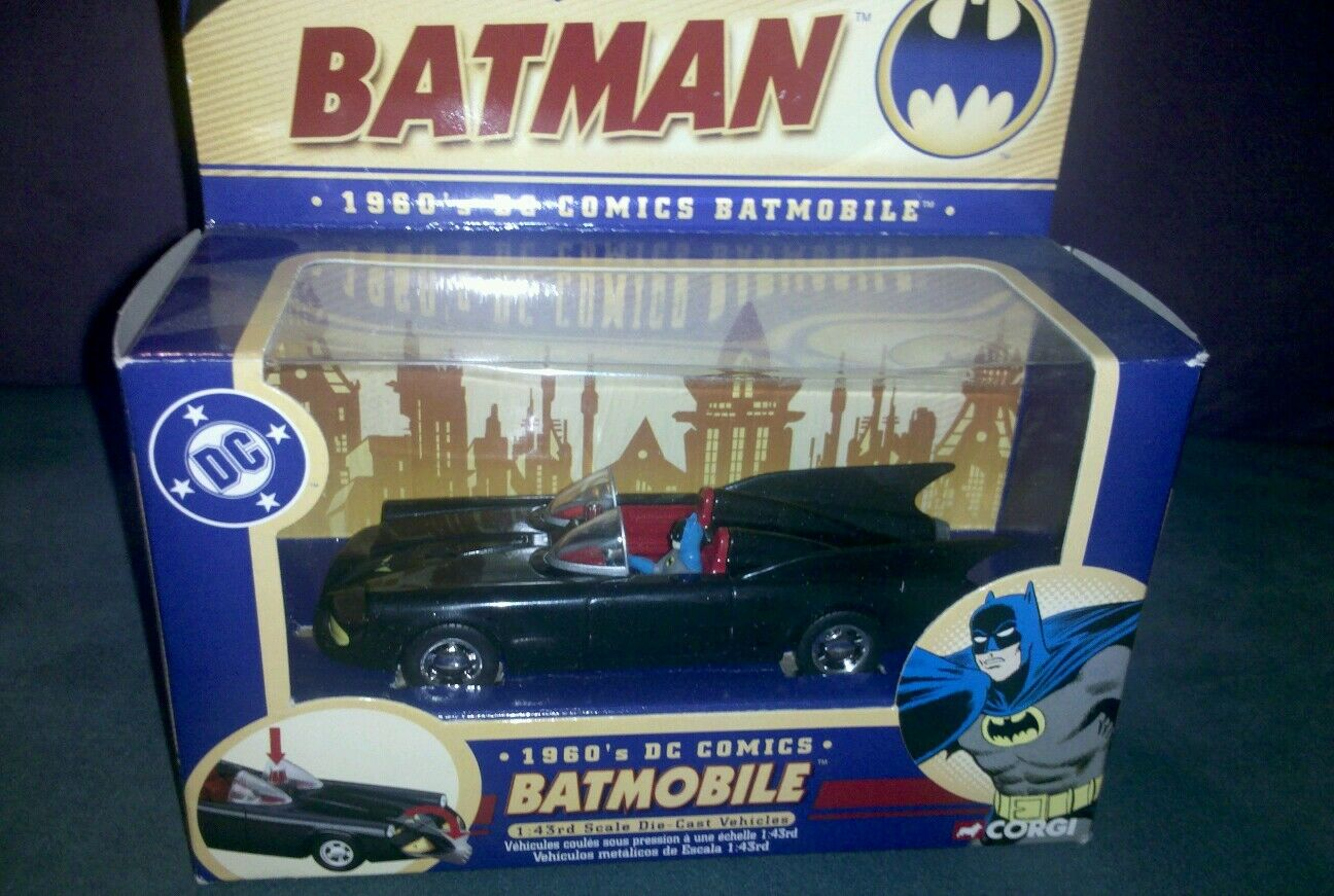 Corgi 1960s dc comics batmobile