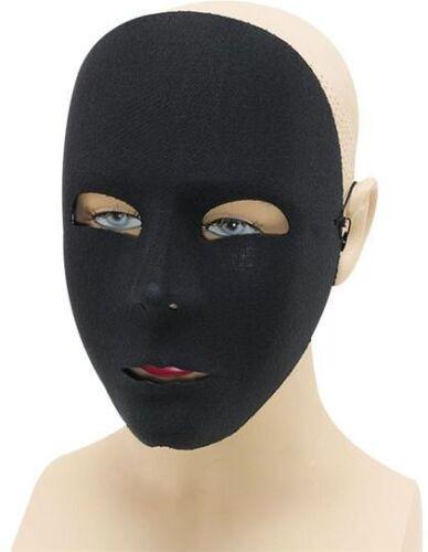 Simple Noir Visage Masque Déguisement Masque