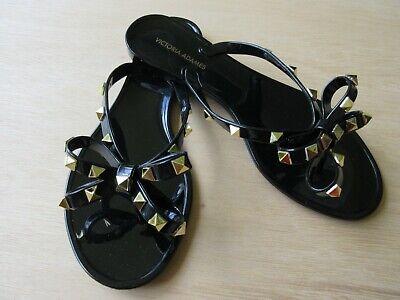 VICTORIA ADAMES Valencia Dark Beige Women Sandals