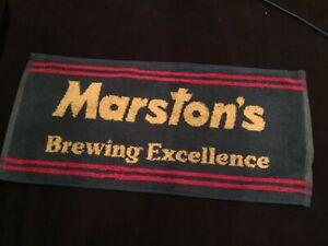 Marston/'s Pedigree Bitter Beer Bar Towel Pub Home Bar Man Cave New Unused