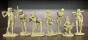 Soldatini di Plastic Platoon  Guerra del Vietnam Ragazza di Playboy 1/32